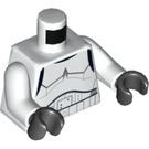LEGO Stormtrooper with Printed Legs and Dark Azure Helmet Vents (75053) Minifig Torso (973 / 76382)