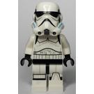 LEGO Stormtrooper with Printed Legs and Dark Azure Helmet Vents (75053) Minifigure