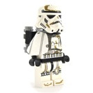 LEGO Stormtrooper with White Pauldron, Re-Breather, Dirt Stains, Printed Head Minifigure