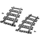 LEGO Straight and Curved Rails Set 7896