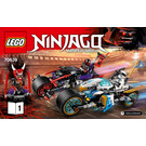 LEGO Street Race of Snake Jaguar Set 70639 Instructions