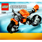 LEGO Street Rebel Set 7291 Instructions
