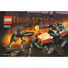 LEGO Street Sprinter vs. Mutant Lizard Set 7473