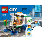 LEGO Street Sweeper Set 60249 Instructions
