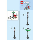 LEGO Streetlamps Set 40312 Instructions