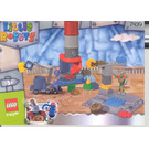 LEGO Stretchy's Junk Yard Set 7439 Instructions