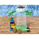 LEGO Stripy's Flower Cart Set 7445