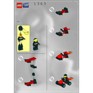 LEGO Stunt Go-Cart Set 1363 Instructions