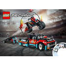 LEGO Stunt Show Truck & Bike Set 42106 Instructions
