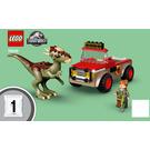 LEGO Stygimoloch Dinosaur Escape Set 76939 Instructions