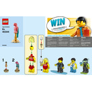 LEGO Summer Celebration Minifigure Pack Set 40344 Instructions