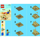 LEGO Summer Scene Set 40054 Instructions