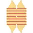LEGO Sunblind Film with Stripes and Icecream Cones (71768)