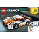 LEGO Sunset Track Racer Set 31089 Instructions