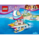 LEGO Sunshine Catamaran Set 41317 Instructions