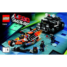 LEGO Super Cycle Chase Set 70808 Instructions