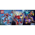 LEGO Super mech pack Set 66635