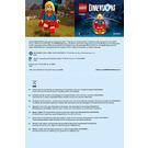 LEGO Supergirl Set 71340 Instructions