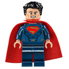LEGO Superman - Dark Blue Suit, Tousled Hair, Soft Cape Minifigure