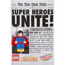 LEGO Superman (NYCC 2011 exclusive) Set COMCON017