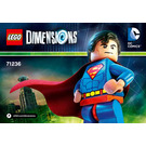 LEGO Superman Set 71236 Instructions