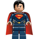 LEGO Superman with Dark Blue Suit Minifigure