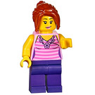 LEGO Supermarket Female Customer Minifigure