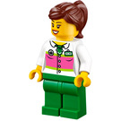 LEGO Supermarket Female Shop Assistant Minifigure
