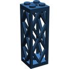 LEGO Support 2 x 2 x 5 Lattice Pillar (Complete)