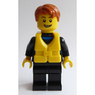 LEGO Surfer in Wetsuit with Life Jacket Minifigure