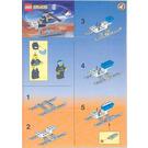 LEGO Surveillance Chopper Set 6461 Instructions