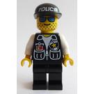 LEGO Surveillance Squad Cop with Blue Glasses Minifigure
