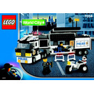 LEGO Surveillance Truck Set 7034 Instructions