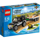 LEGO SUV with Watercraft Set 60058 Packaging