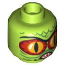 LEGO Swamp Creature Head (Safety Stud) (3626 / 10547)