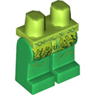LEGO Swamp Creature Minifigure Hips with Green Legs (3815 / 10591)