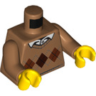 LEGO Sweater with Diamond Pattern and White Shirt Torso (973 / 76382)