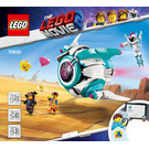 LEGO Sweet Mayhem's Systar Starship! Set 70830 Instructions