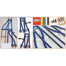 LEGO Switch Track - 1 Right and 1 Left Set 154