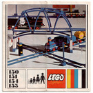 LEGO Switch Track - 1 Right and 1 Left Set 154 Instructions