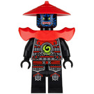 LEGO Swordsman with blue face markings Minifigure