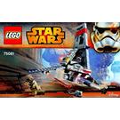 LEGO T-16 Skyhopper Set 75081 Instructions