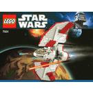 LEGO T-6 Jedi Shuttle Set 7931-1 Instructions