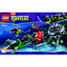LEGO T-Rawket Sky Strike Set 79120 Instructions