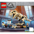 LEGO T. rex Dinosaur Fossil Exhibition Set 76940 Instructions