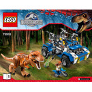 LEGO T-Rex Tracker Set 75918 Instructions
