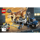 LEGO T. Rex Transport Set 75933 Instructions