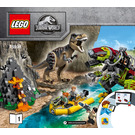 LEGO T. rex vs Dino-Mech Battle Set 75938 Instructions