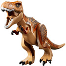 LEGO T-rex with Dark Orange and Dark Brown Back