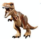 LEGO T-rex with Dark Orange and Dark Brown Back